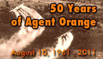 50th Anniversary of First Spraying of Agent Orange